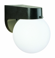Thomas Lighting SL94357 Plastic Outdoor Black Finish 6  Wide Exterior Wall Lighting Fixture