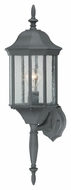 Thomas Lighting SL94517 Hawthorne Traditional Black Finish 26  Tall Outdoor Light Sconce