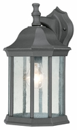 Thomas Lighting SL94527 Hawthorne Traditional Black Finish 14  Tall Outdoor Lamp Sconce