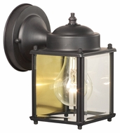 Thomas Lighting SL946963 Outdoor Essentials Traditional Painted Bronze Finish 4.5  Wide Exterior Wall Sconce Lighting