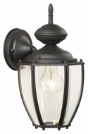 Thomas Lighting SL94707 Park Avenue Traditional Black Finish 7  Wide Exterior Lighting Wall Sconce