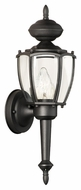 Thomas Lighting SL94727 Park Avenue Traditional Black Finish 5.5  Wide Exterior Wall Sconce Lighting