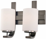Thomas TV0007715 Pendenza Contemporary Oiled Bronze 2-Light Bathroom Lighting Fixture