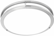 Thomas SL705178 Parallel Brushed Nickel Fluorescent Flush Mount Lighting Fixture