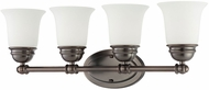 Thomas SL714415 Bella Oiled Bronze 4-Light Bathroom Sconce Lighting