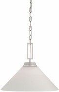 Thomas TC0007117 Wright Matte Nickel Drop Ceiling Lighting