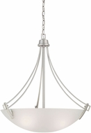 Thomas TC0009117 Wright Matte Nickel Drop Ceiling Light Fixture