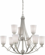 Thomas TK0012117 Wright Matte Nickel Lighting Chandelier
