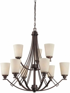 Thomas TK0012704 Wright Espresso Chandelier Lamp