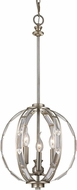 Trans Globe 10363-ASL Emporium Antique Silver Leaf Hanging Pendant Lighting