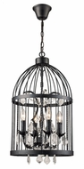 Trans Globe 10454-BK Amherst Black Ceiling Pendant Light