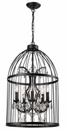 Trans Globe 10455-BK Amherst Black Drop Ceiling Light Fixture