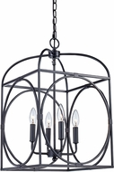 Trans Globe 10514-ROB Academy Modern Rubbed Oil Bronze 13.5  Foyer Lighting