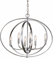 Trans Globe 10537-PC Cosmo Contemporary Polished Chrome Pendant Hanging Light