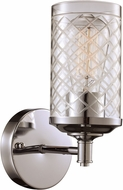 Trans Globe 20471-PC Lucille Contemporary Polished Chrome Wall Lamp