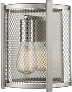 Trans Globe 20521-BN Mist Contemporary Brushed Nickel Lamp Sconce