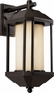 Trans Globe 40251-ROB 40250 Series Rubbed Oil Bronze Outdoor Wall Sconce Lighting