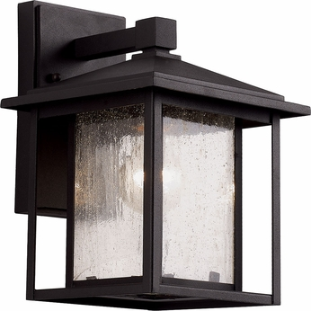 Trans Globe 40360 Square Seeded Exterior Wall Light Fixture