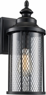 Trans Globe 40740-BK Stewart Black Outdoor 12  Lighting Wall Sconce