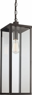 Trans Globe 40758-BK Oxford Black Exterior Drop Lighting Fixture