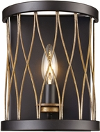 Trans Globe 70691-ROB Tahoe Contemporary Rubbed Oil Bronze Wall Light Sconce