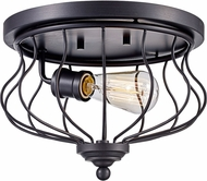 Trans Globe 70781-ROB Congress Contemporary Rubbed Oil Bronze Ceiling Lighting