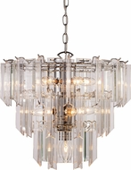Trans Globe 7163-PC Tranquility Contemporary Polished Chrome 18  Drop Lighting