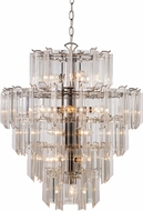 Trans Globe 7166-PC Tranquility Contemporary Polished Chrome 22 Ceiling Light Pendant