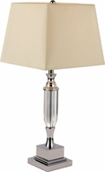 Trans Globe CTL-585 Chrome Square Polished Chrome Table Lamp