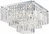 Trans Globe JK-5-PC Embassy Polished Chrome Halogen Ceiling Lighting Fixture