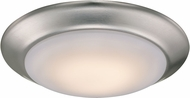 Trans Globe LED-30016-BN Vanowen Contemporary Brushed Nickel LED Ceiling Light Fixture