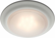 Trans Globe LED-30016-WH Vanowen Contemporary White LED Flush Mount Lighting
