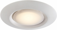 Trans Globe LED-30021-1-WH Vanowen Modern White LED Overhead Lighting
