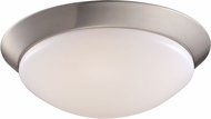Trans Globe LED-30029-BN Walsh Brushed Nickel LED 10  Flush Ceiling Light Fixture