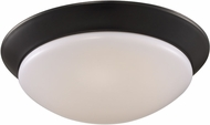 Trans Globe LED-30029-ROB Walsh Rubbed Oil Bronze LED 10  Flush Mount Ceiling Light Fixture