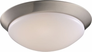 Trans Globe LED-30030-BN Walsh Brushed Nickel LED 13  Overhead Light Fixture