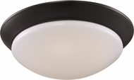 Trans Globe LED-30030-ROB Walsh Rubbed Oil Bronze LED 13  Overhead Lighting Fixture