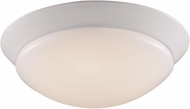 Trans Globe LED-30030-WH Walsh White LED 13  Ceiling Lighting