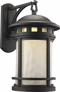 Trans Globe LED-40372-BK Boardwalk Black LED Outdoor 11  Wall Sconce Lighting