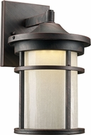 Trans Globe LED-40380-RT Avalon Rust LED Exterior 7  Wall Lighting Fixture
