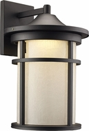 Trans Globe LED-40382-BK Avalon Black LED Outdoor 11  Wall Sconce
