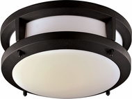 Trans Globe LED-40550-BK Borromeo Contemporary Black LED Ceiling Light
