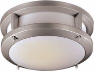 Trans Globe LED-40550-SL Borromeo Modern Silver LED Ceiling Light Fixture