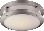 Trans Globe LED-40551-SL Borromeo Modern Silver LED Ceiling Light Fixture