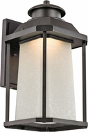Trans Globe LED-40932-BK Southfield Black LED Exterior Lamp Sconce