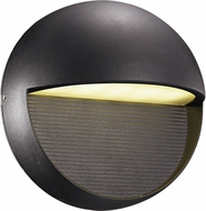 Trans Globe LED-50000-BK Galaxy Modern Black LED Exterior Wall Lighting Fixture