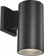 Trans Globe LED-50021-BK Compact Modern Black LED Exterior Wall Lamp