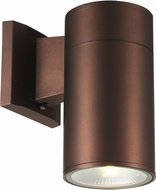 Trans Globe LED-50021-BZ Compact Contemporary Bronze LED Outdoor Wall Lighting