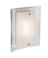 Trans Globe MDN-1030-AN Chakra Contemporary Brushed Nickel Finish 6.5  Wide Wall Sconce