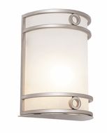 Trans Globe MDN-1032-AN Chakra Modern Brushed Nickel Finish 8.5  Tall Wall Lamp